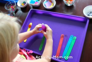 Learning with Craft Sticks