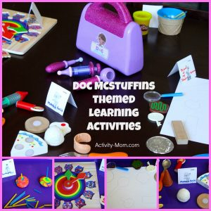 Doc McStuffins Themed Learning Activities