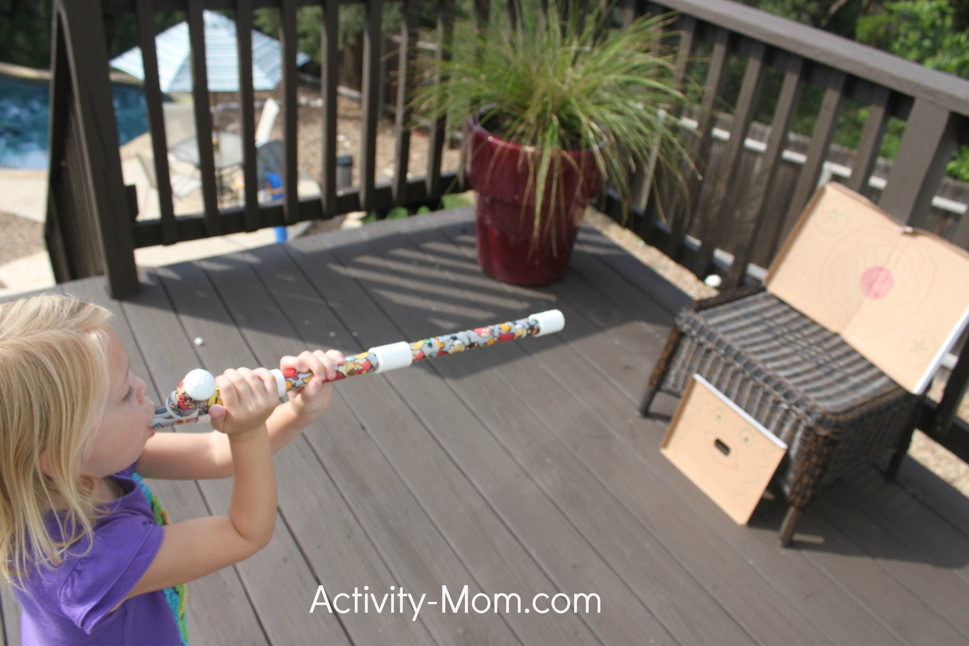 Marshmallow Shooter Activities