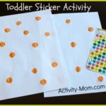 Toddler Sticker Activity