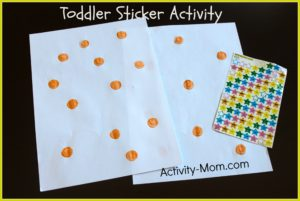 ways to learn with stickers