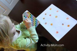 Toddler Sticker Activity
