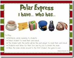 Polar Express I have who has