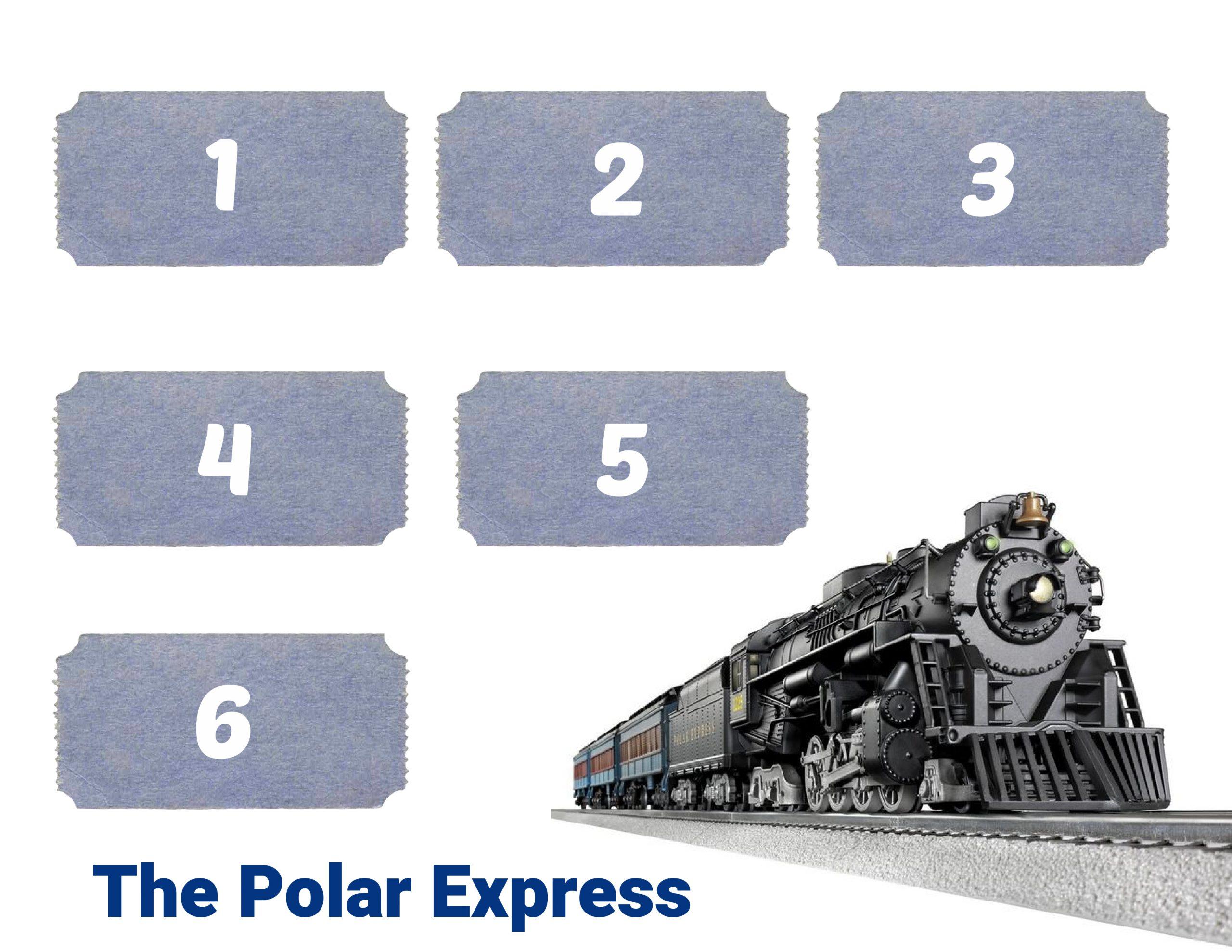 Polar Express Dice Game FREE