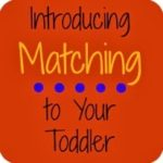Toddler Matching Activity