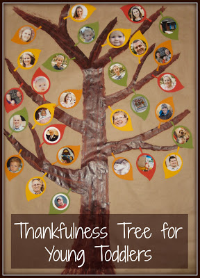 Toddler Thankfulness Tree