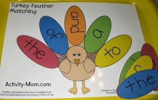 Turkey Feather Matching