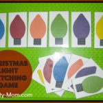 Christmas Light Matching (printable)