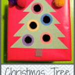 Christmas Tree Push Box (printable)
