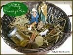 Nativity Sensory Bin