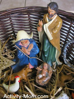 Nativity Sensory Bin 2