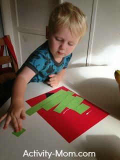 Toddler Christmas Craft 1