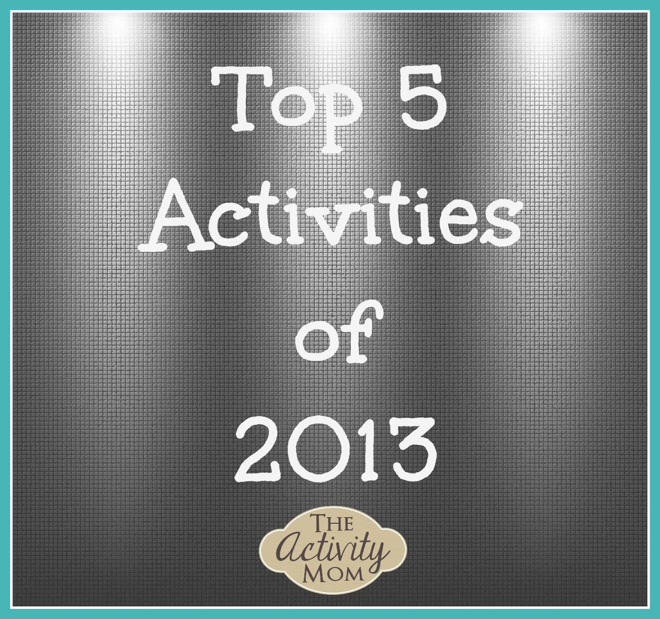 Top Activities of 2013 #3