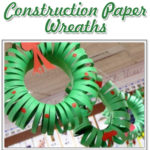Construction Paper Wreaths