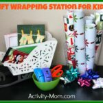 Kids' Gift Wrapping Station