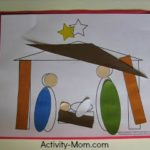 Nativity Shape Craft (printable)