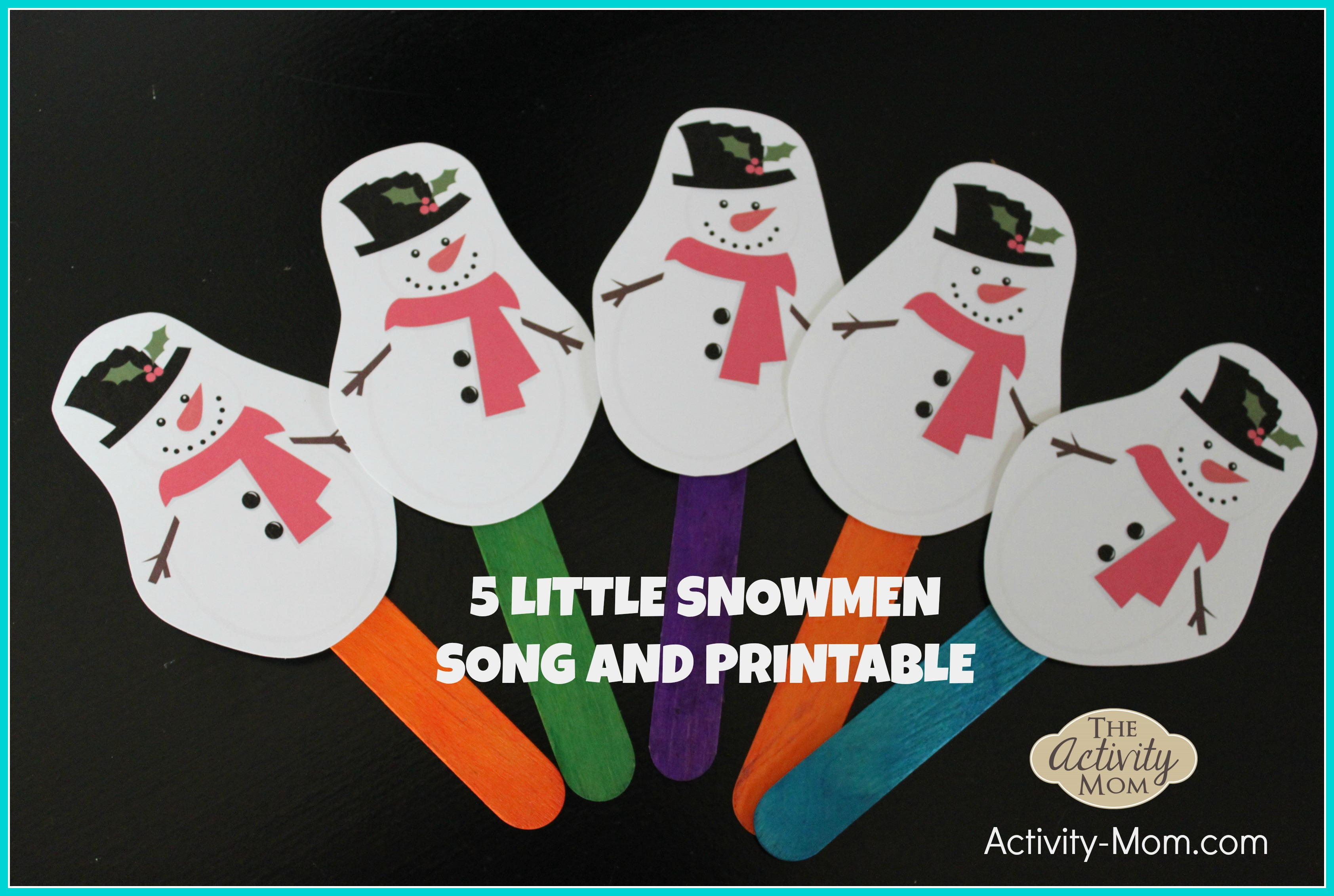 Snowman Handprint Ornament Poem Printable