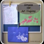 Simple DIY Art Display