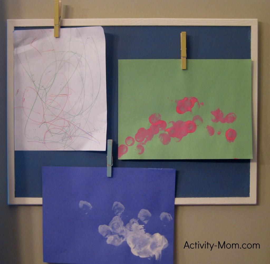 Simple DIY Art Display