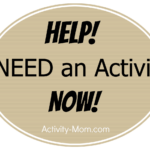 HELP! I Need an Activity NOW!