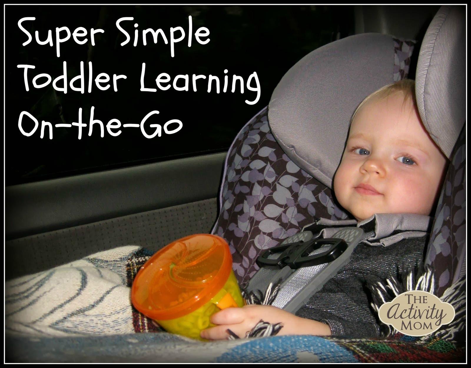 Toddler Travel Activities