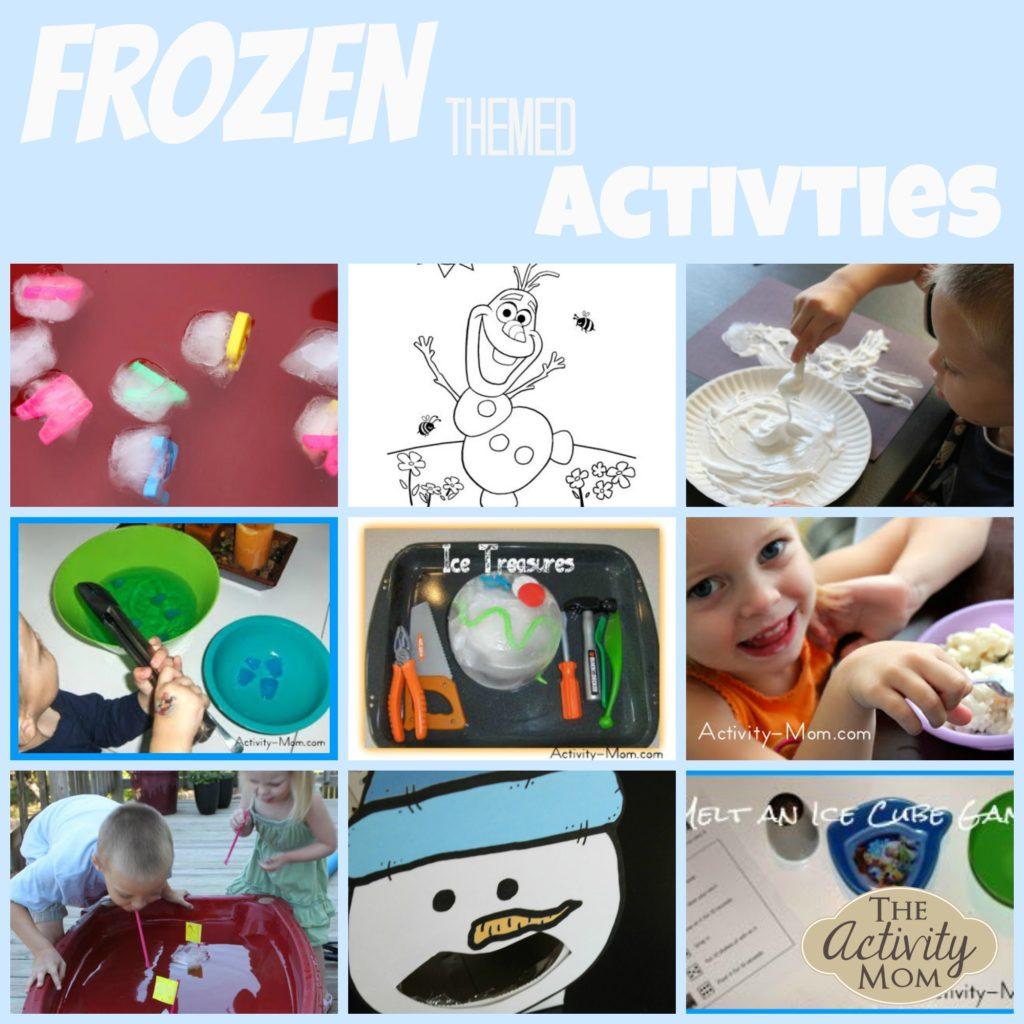 frozen themed activities