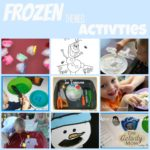 frozen themed activities