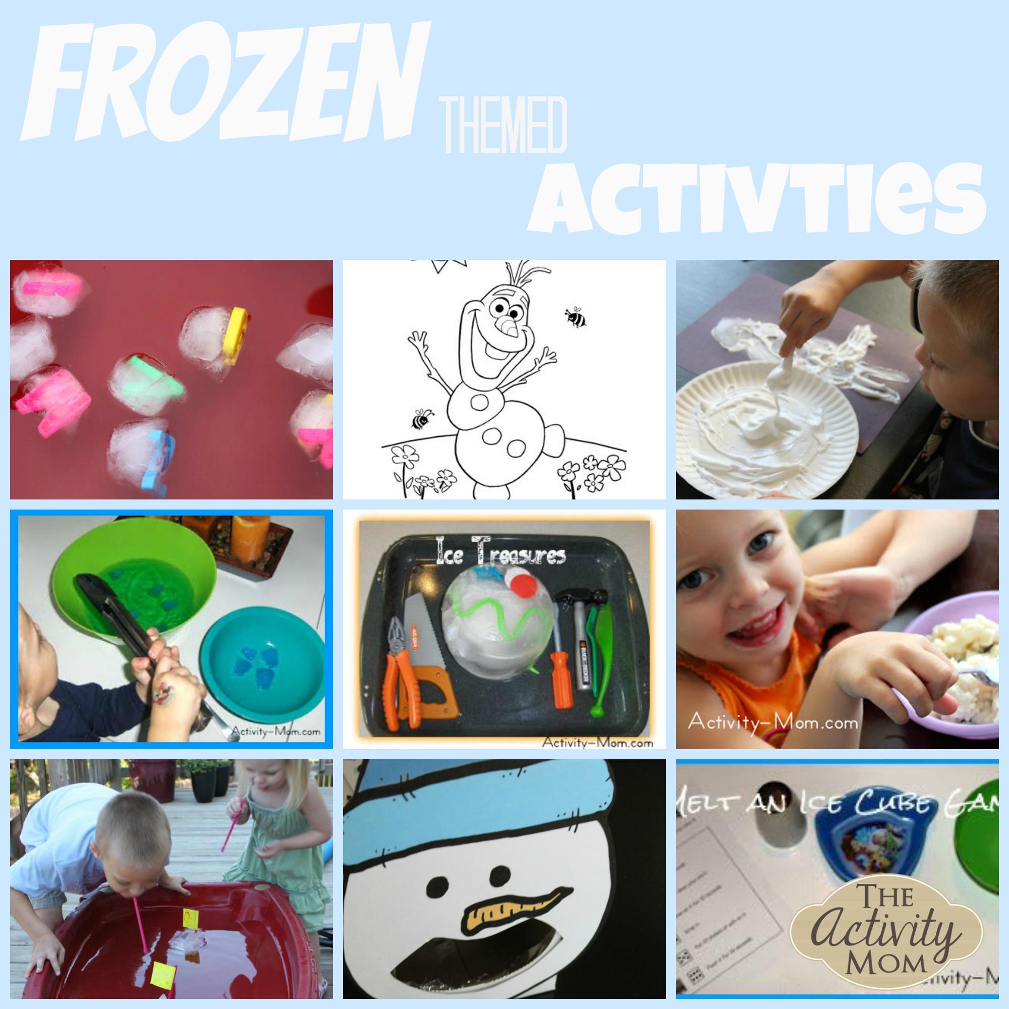 """""""Frozen"""" Inspired Activities"""