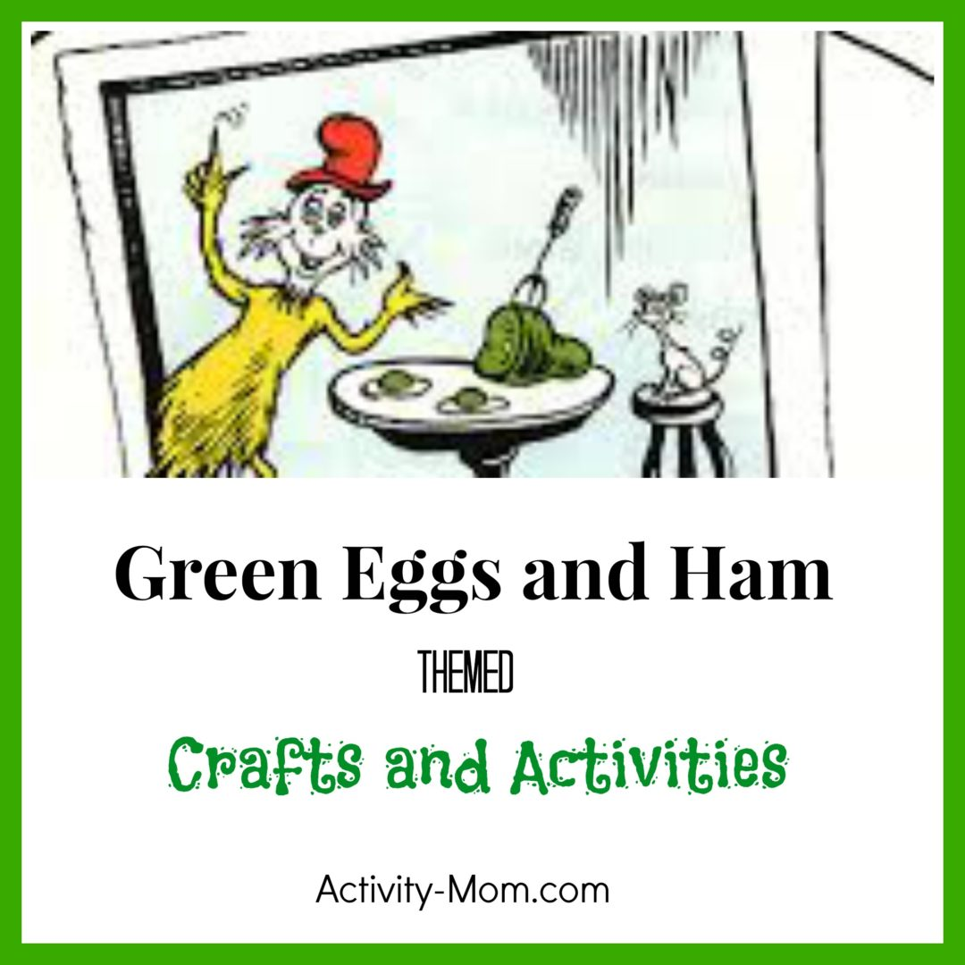 worksheet Green Eggs And Ham Worksheet the activity mom green eggs and ham themed activities activities