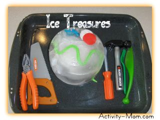 frozen inspired activities