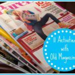 Kids' Activities using Old Magazines
