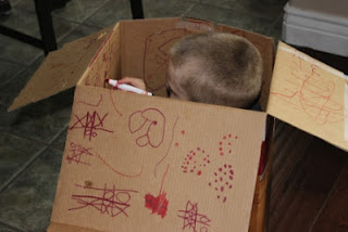 kids activities using cardboard