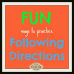 Toddlers and Following Directions