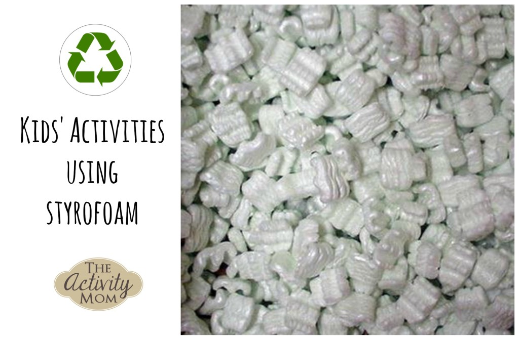 Kids Activities Using Styrofoam