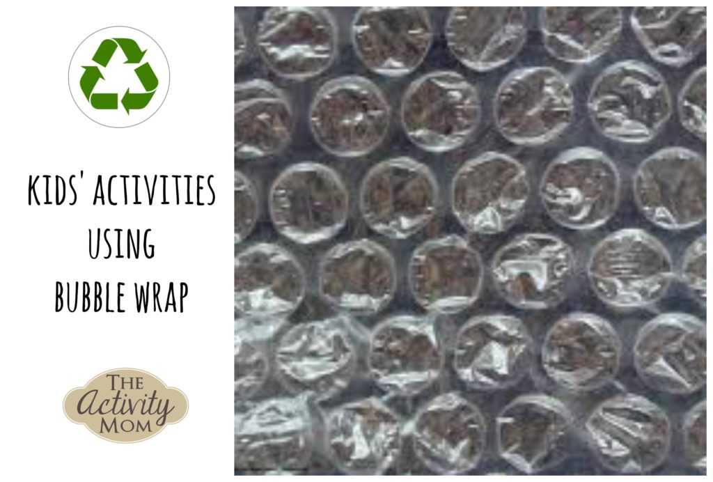 Kids Activities using Bubble Wrap
