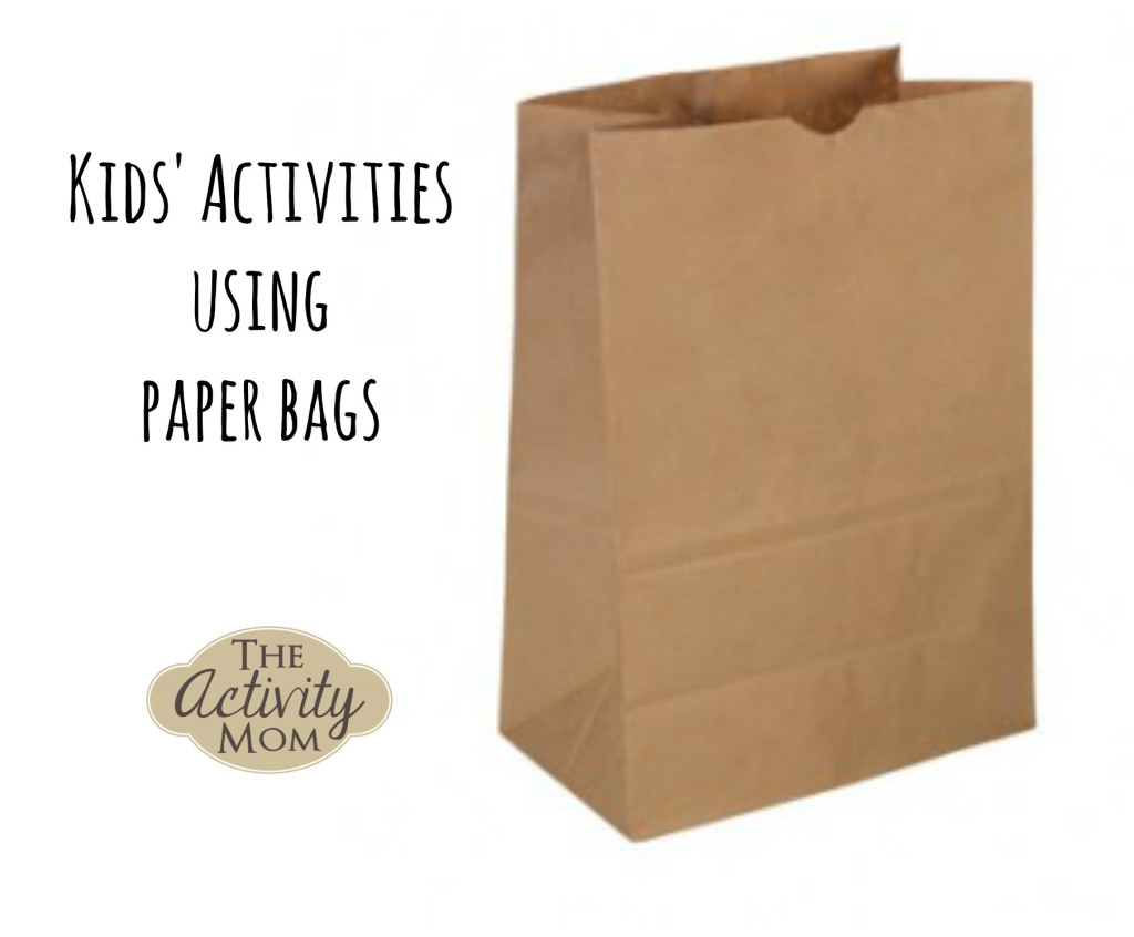 Kids Activities using Paper Bags