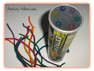 Pipe Cleaners and Pringles Can
