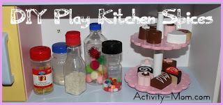 Play Kitchen Spices