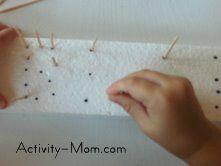 activities using styrofoam