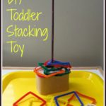 DIY Toddler Stacking Toy