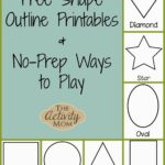 Shape Activities for Toddlers (printable)