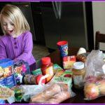 Kids' Activities with Groceries