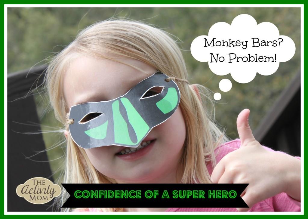 Superhero confidence