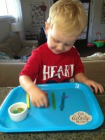 Sort and Balance Toddler Activity