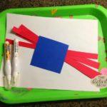Toddler Flag Craft