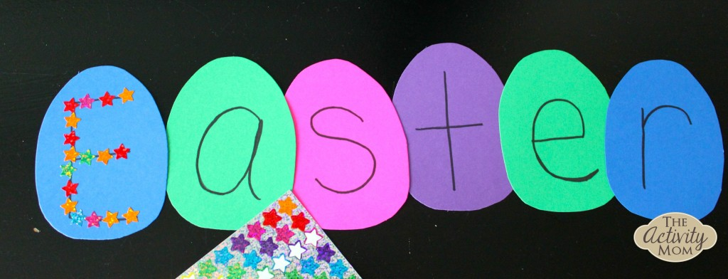 Easter Egg Letter Activity