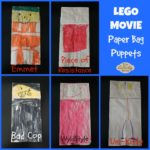 Lego Movie Paper Bag Puppets