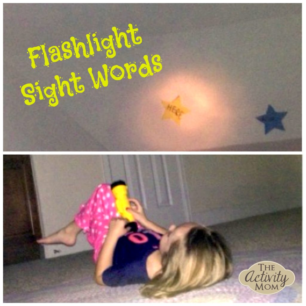 Flashlight Sight Words