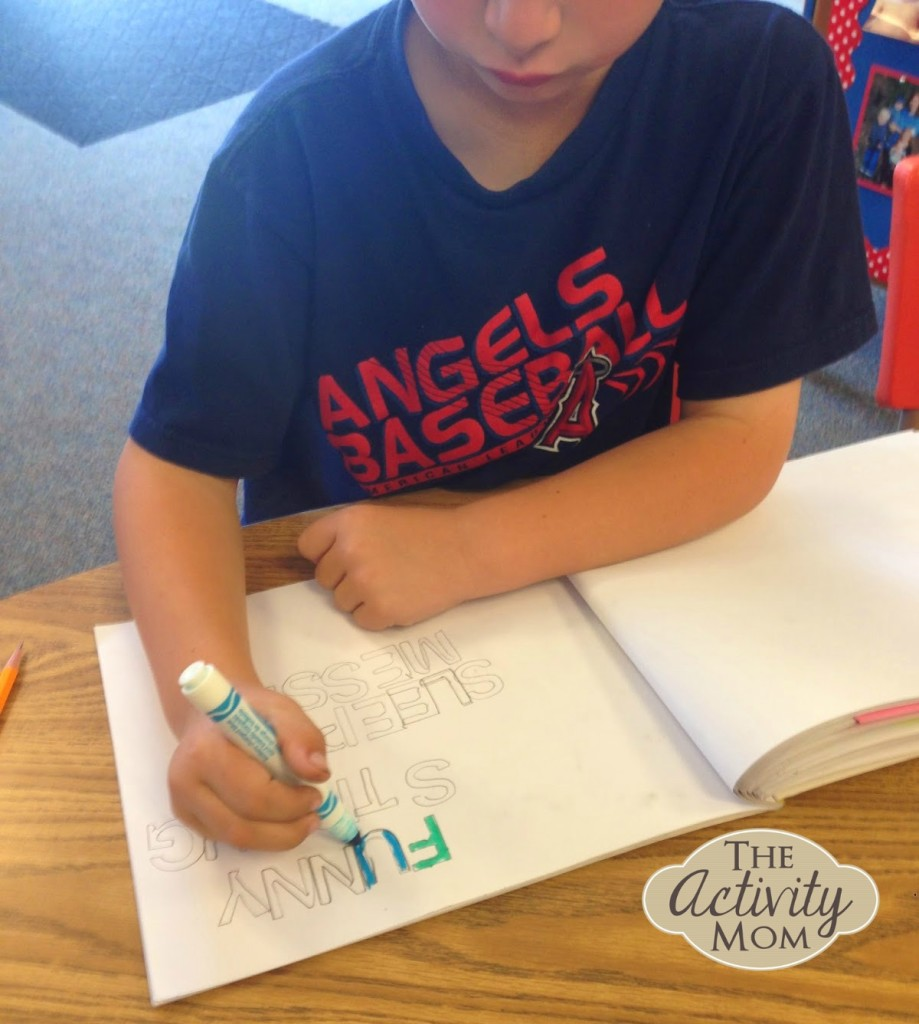 Spelling Words with Stencils