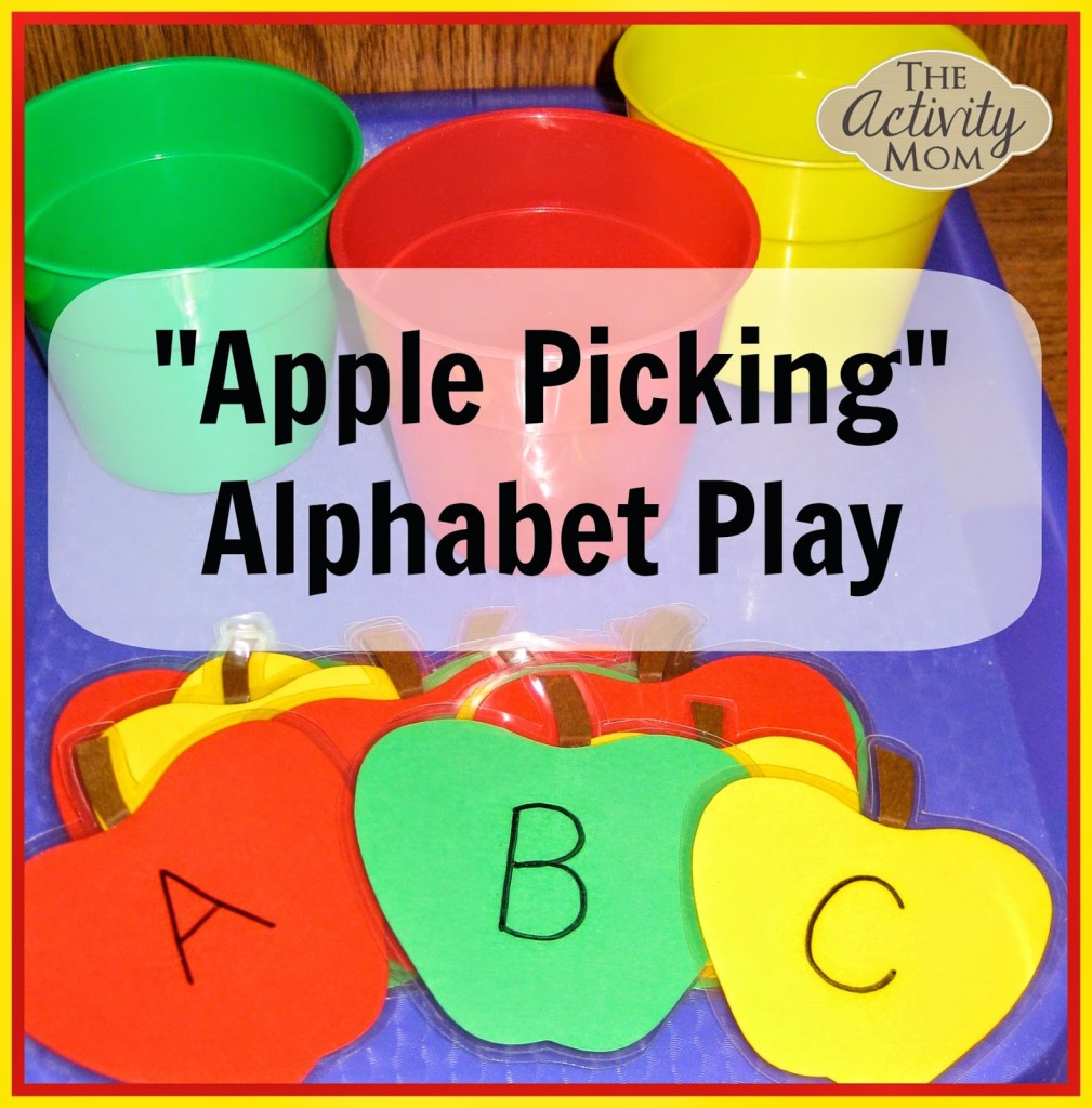 Apple Picking Alphabet Play